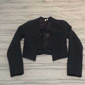 Frenchie from Nordstrom Cropped Tuxedo Jacket